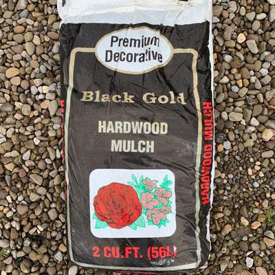 Premium Decorative Black Gold Mulch 2cu.ft, Urban Roots